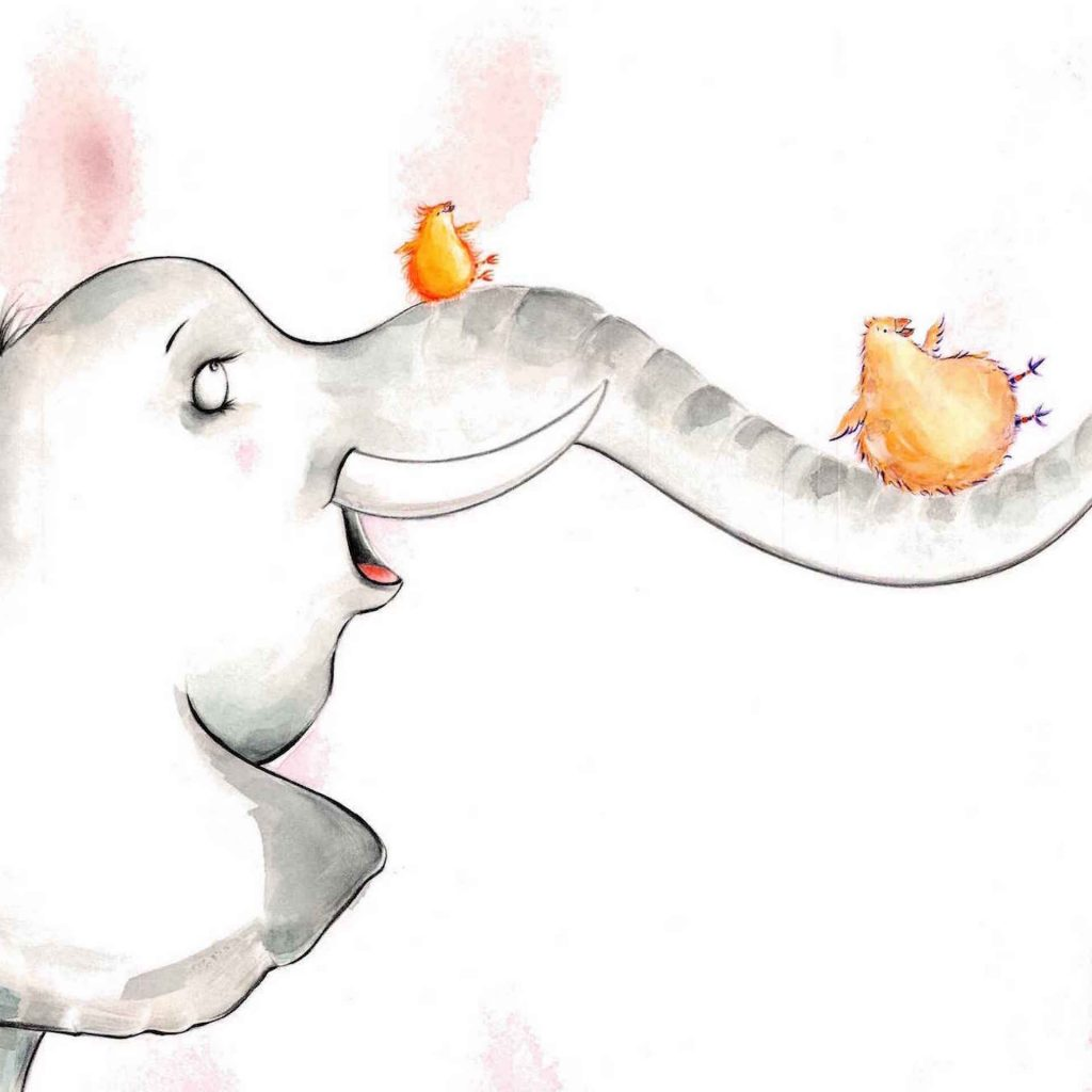 'Elephant slide' by Andrea Edmonds