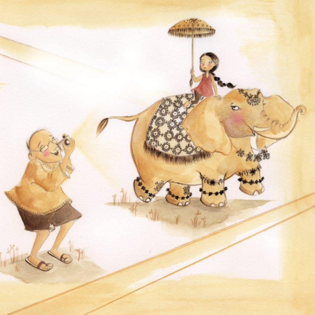 'Princess' (from 'Visiting You' Ek Book Rebecka Sharpe Shelberg, illustrated by Andrea Edmonds