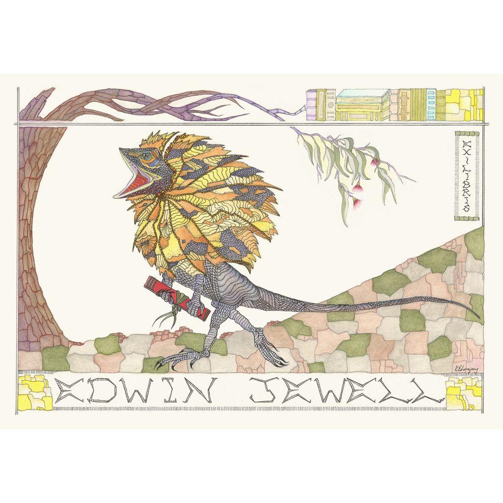 'Edwin Jewell, Ex-Libris' by Kathryn Elisabeth Lovejoy