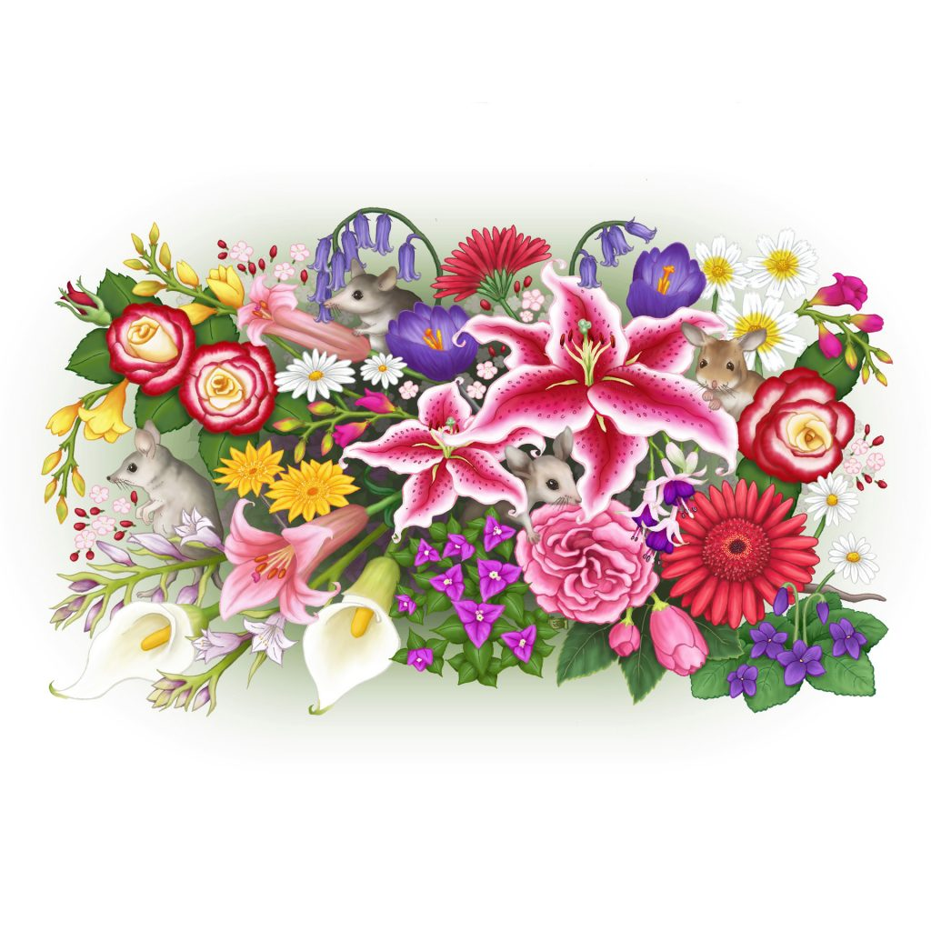 Bouquet by Elena Leong