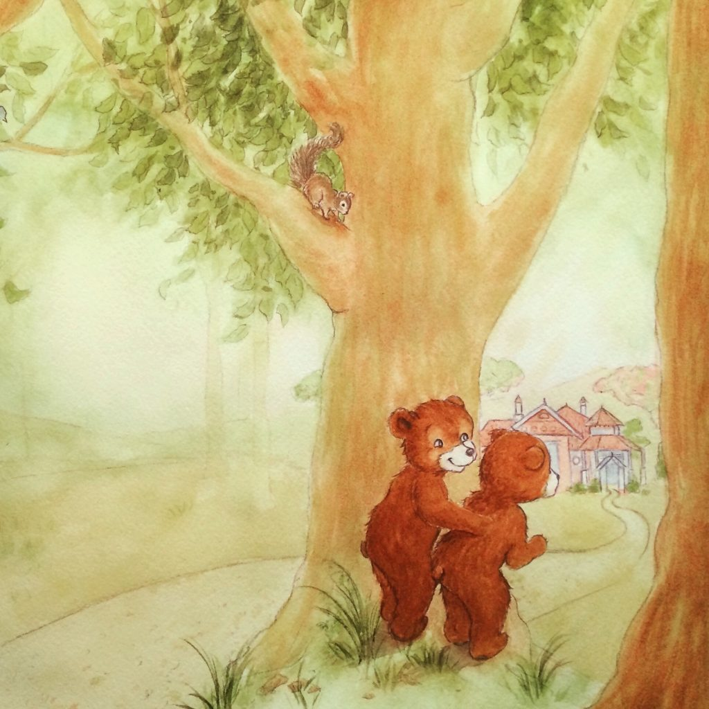 'Forest Bears' by Emma Middleton