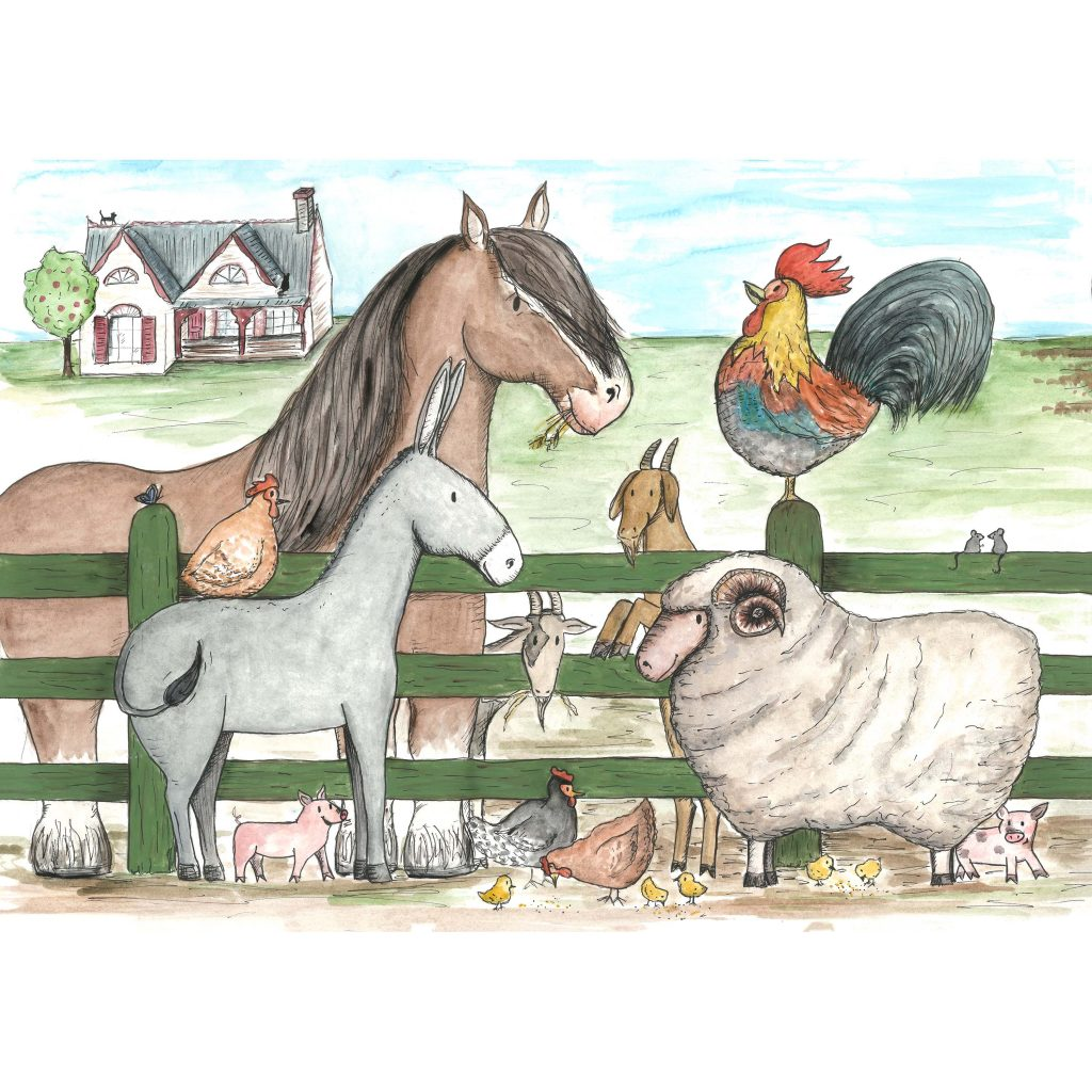 Farm Yard Animals by Noelene Kizis