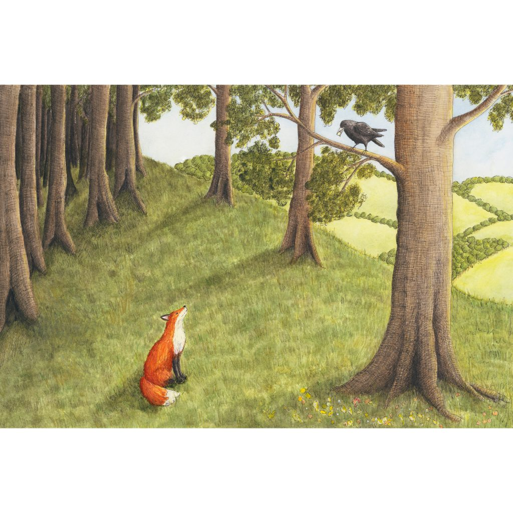The Fox and the Crow by Margeaux Davis