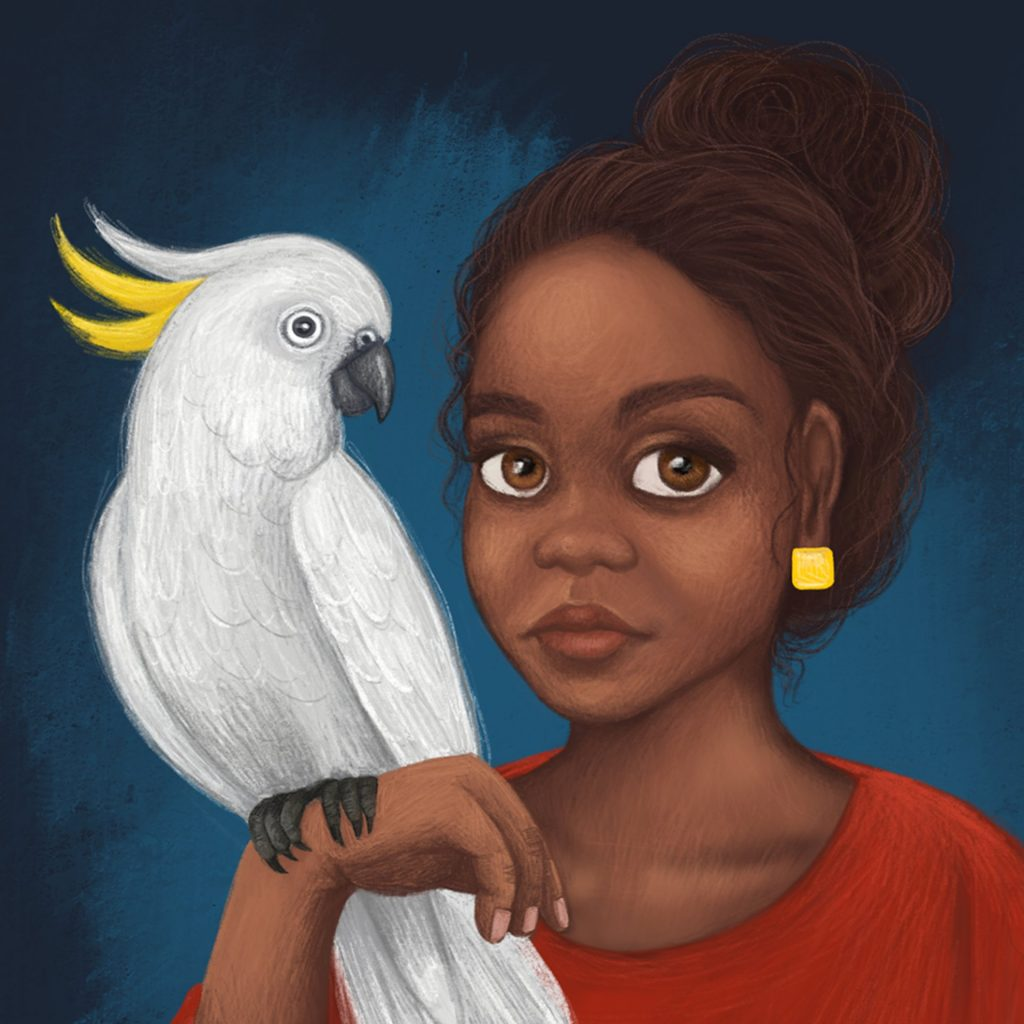 Cockatoo Girl by Samantha Campbell