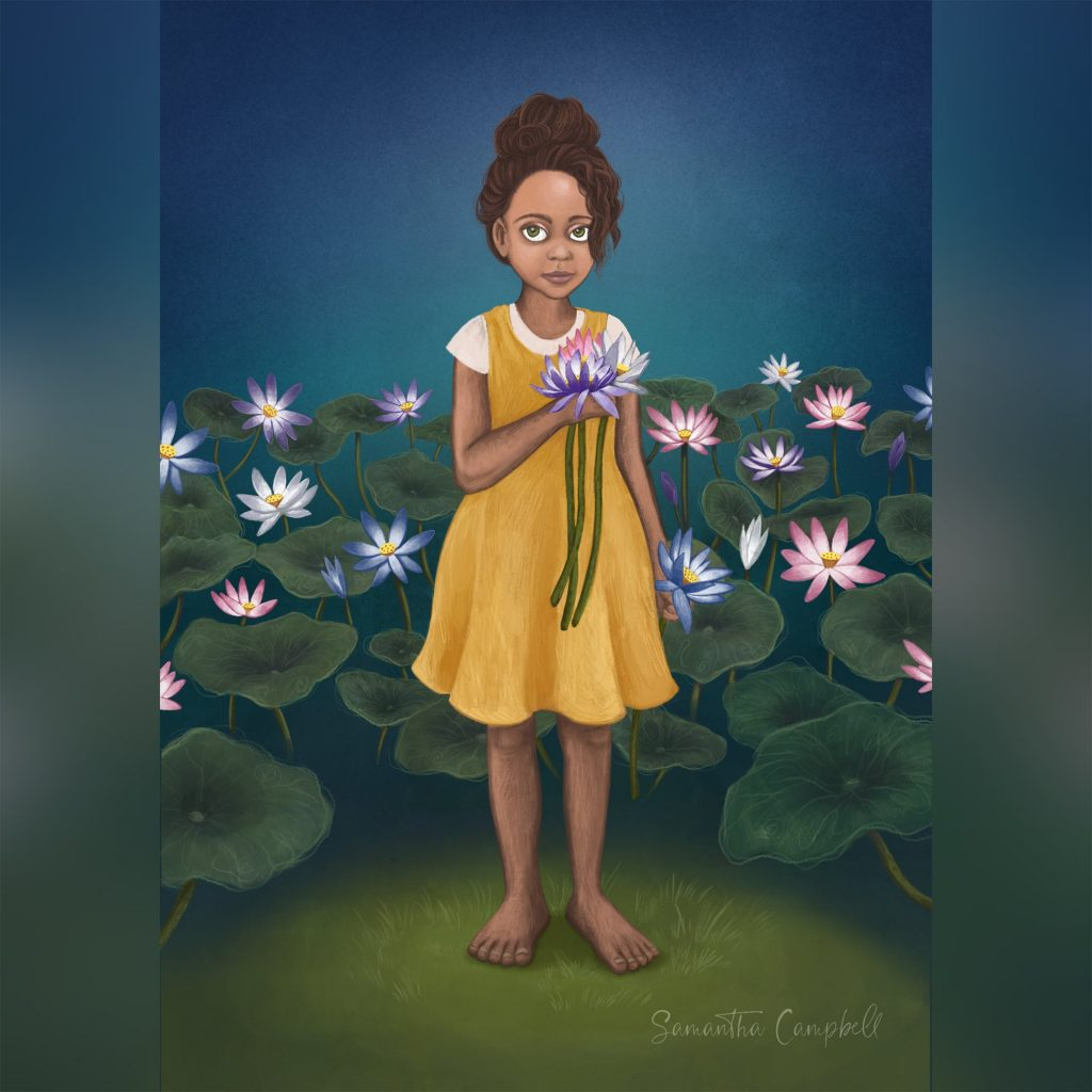 Lily Garden by Samantha Campbell