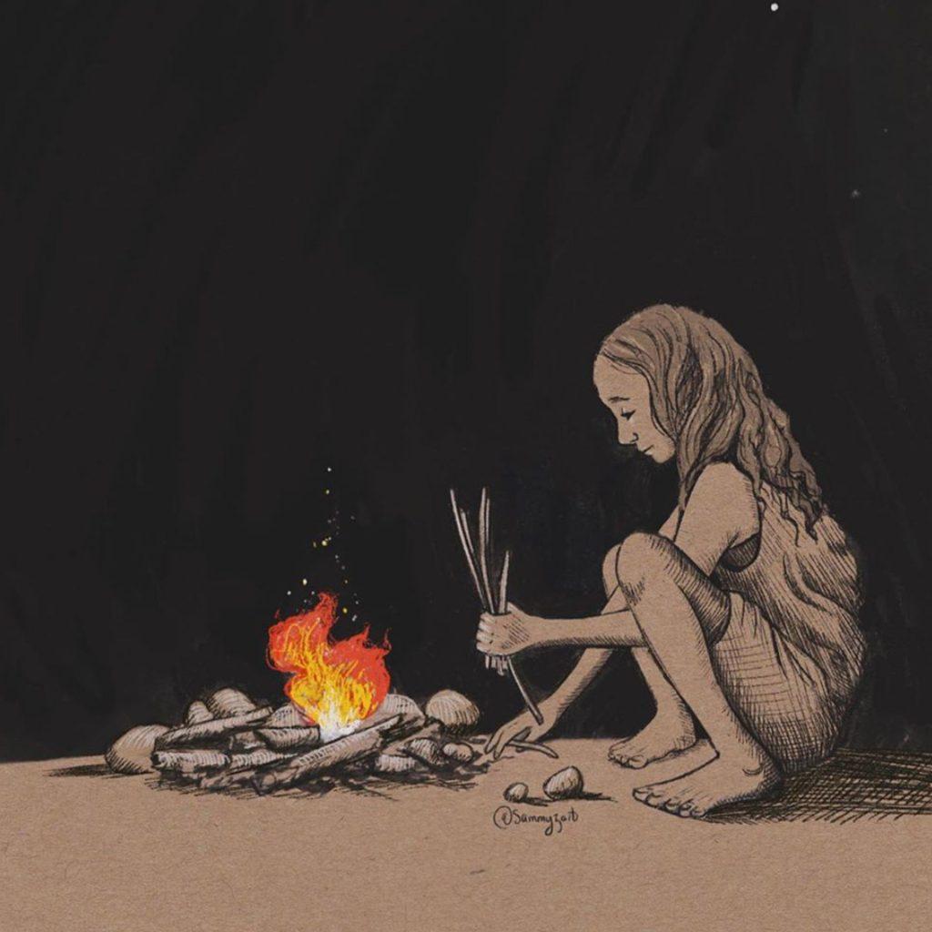 Sticks, Stones & Fire by Samantha Campbell