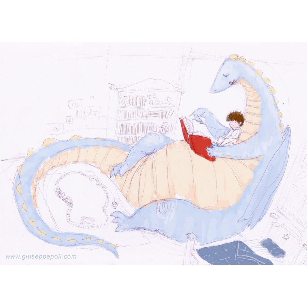 'Dragon and Boy Bedtime Stories' by Giuseppe Poli