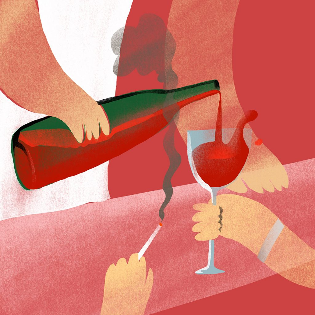 'Glass of Red' by Steve Lo Casto