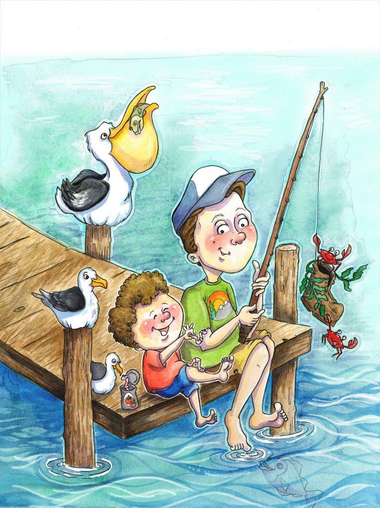 Gone Fishin' by Meg Hewick