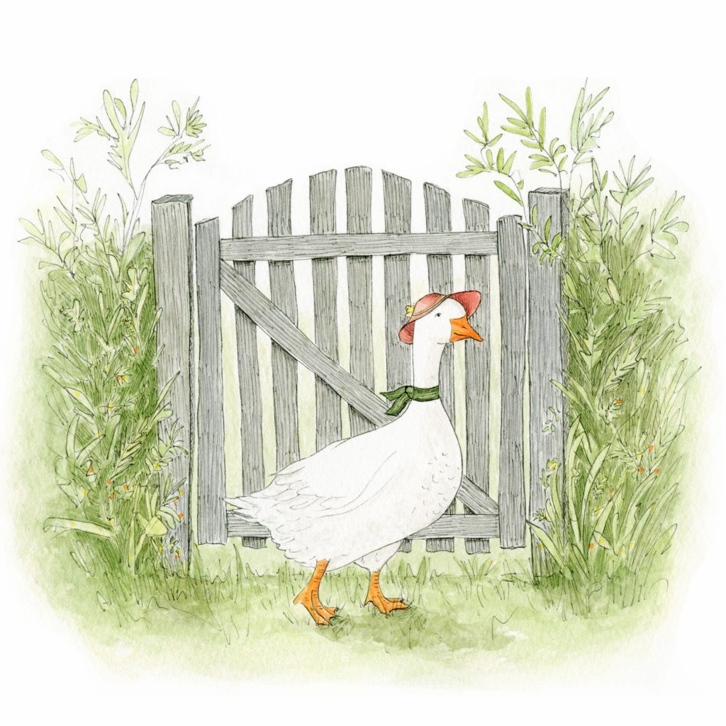 Goose at the Gate by Margeaux Davis