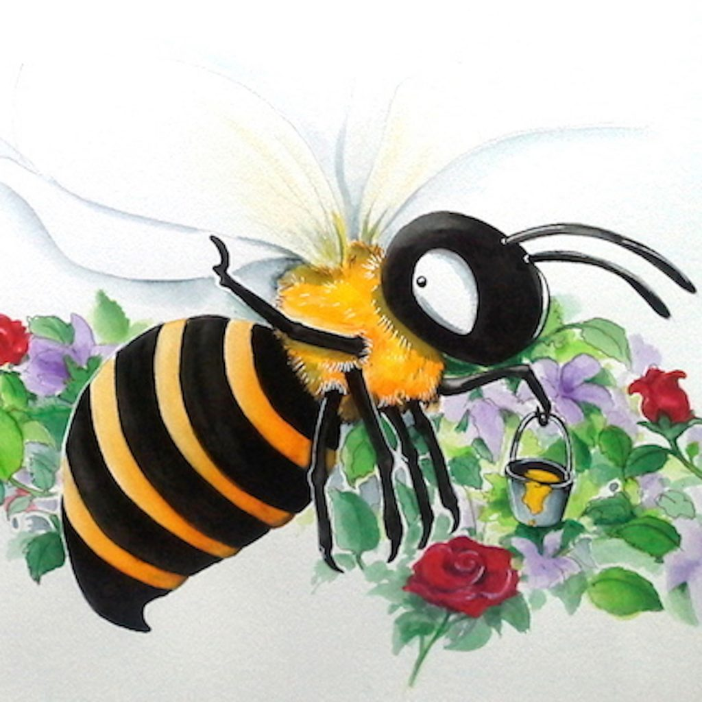 'Busy Bee' by Gwynneth Jones