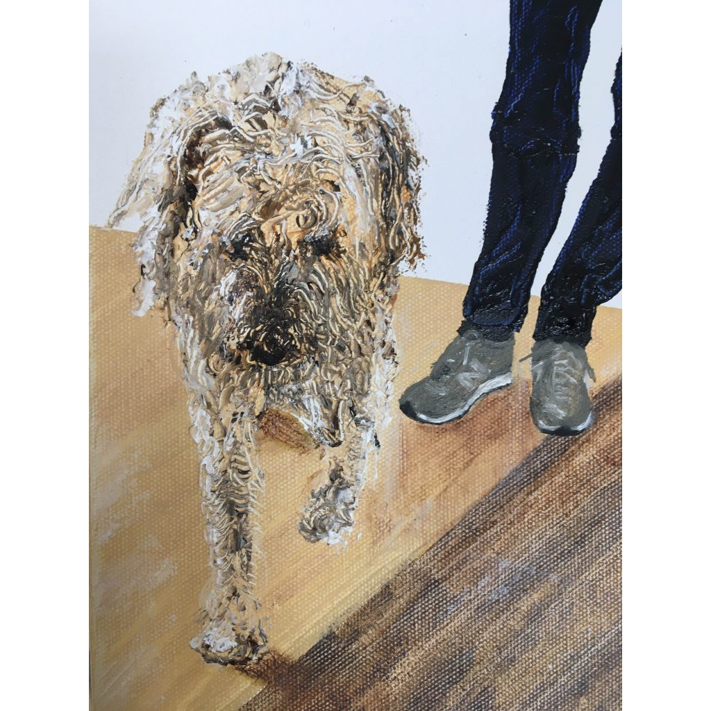Toast the Gallery Dog by Guy Morgan