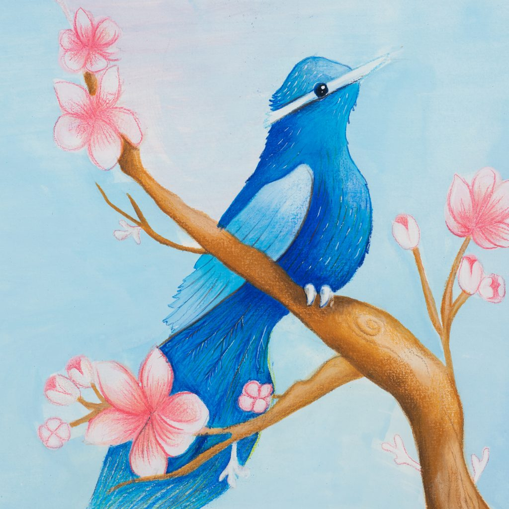 'Blue Bird' by Stephanie Bell