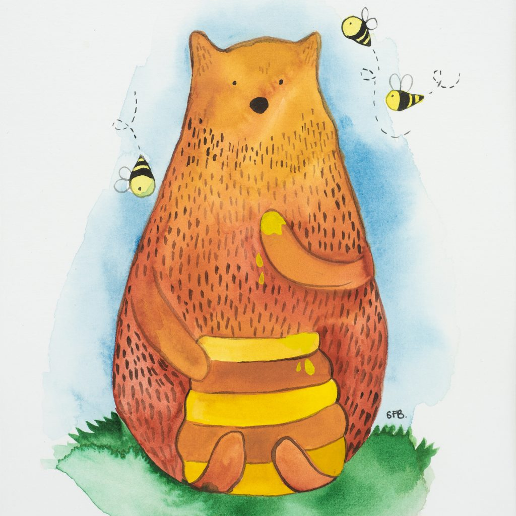'Honey Bear' by Stephanie Bell