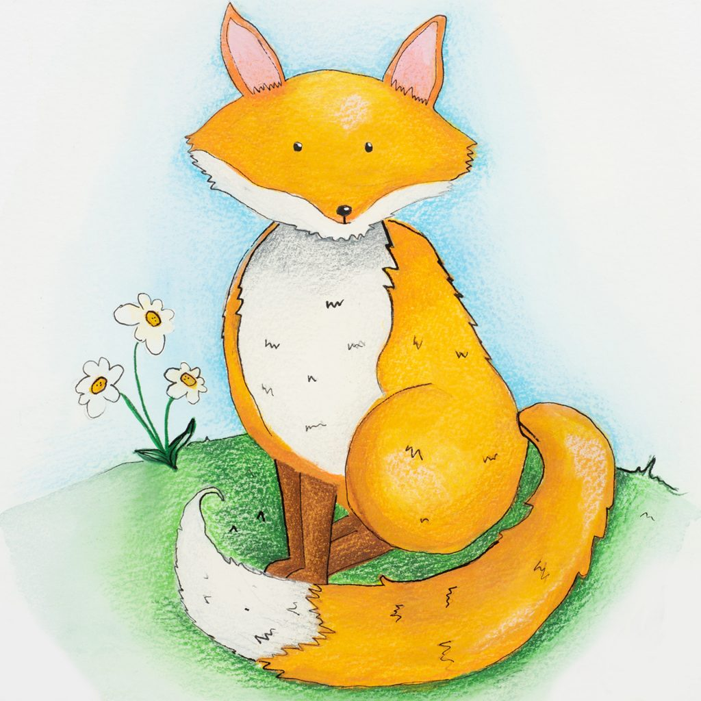 'Felix the Fox' by Stephanie Bell