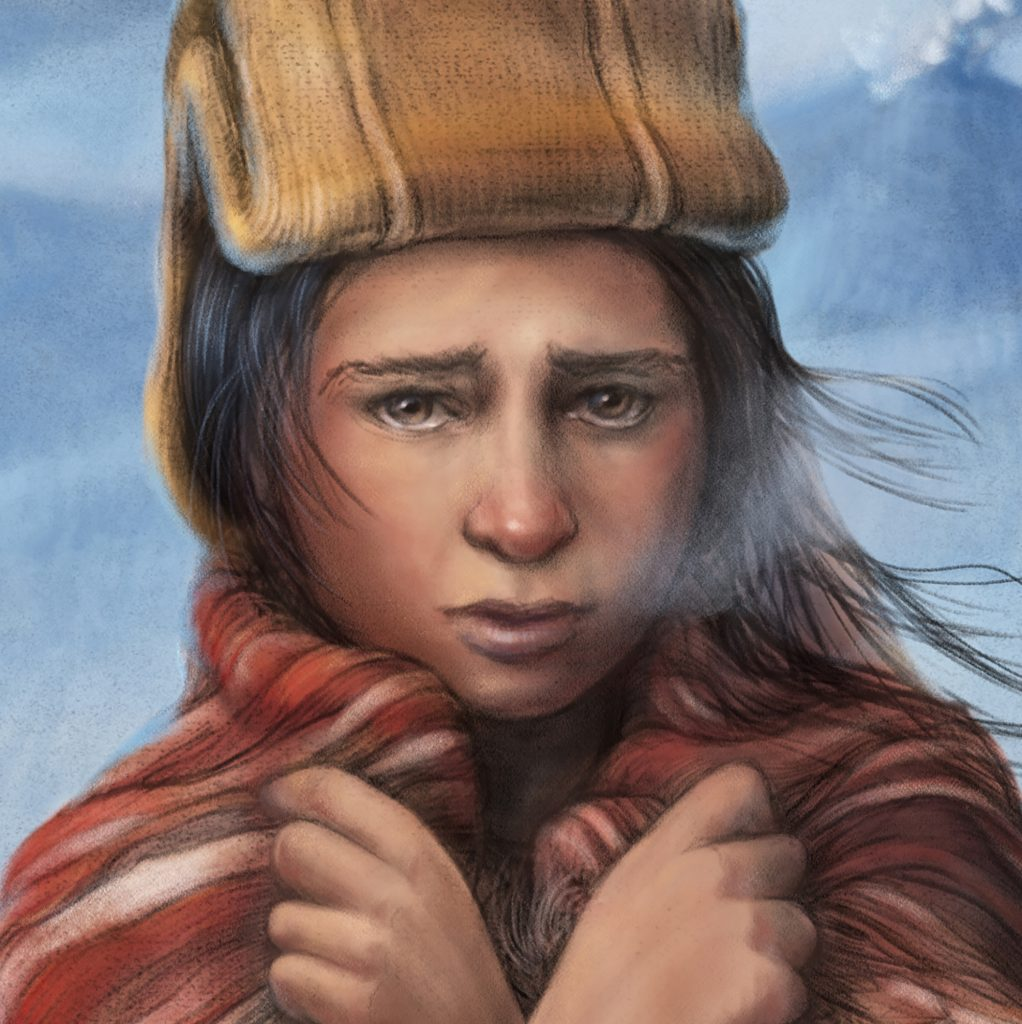 'Inca Girl' by Marjorie Crosby-Fairall