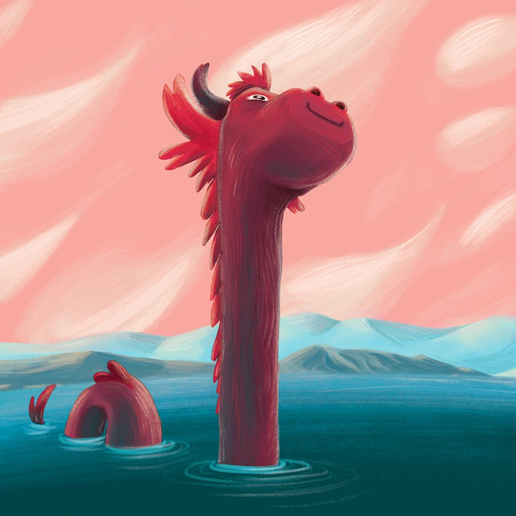 'Nessy' by Rachel Tribout