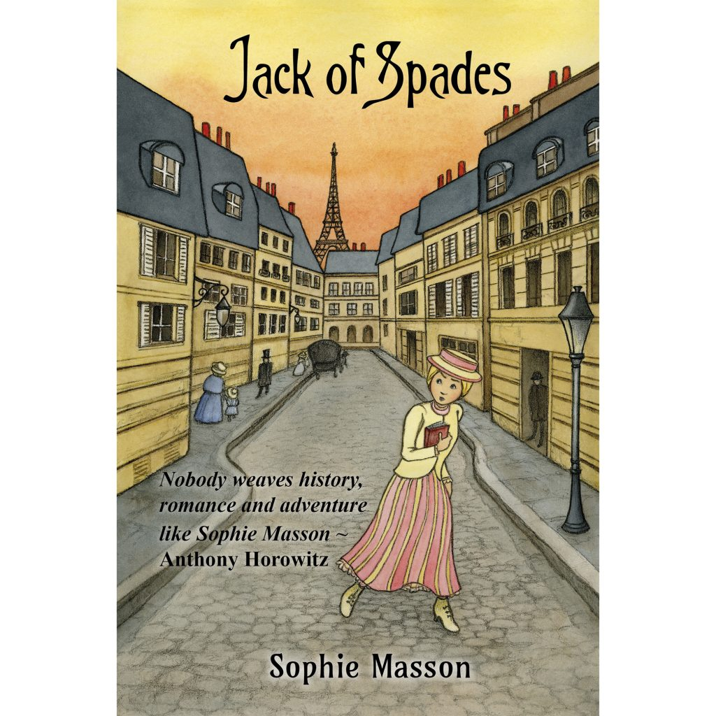 'Jack of Spades' Cover illustration by Yvonne Low