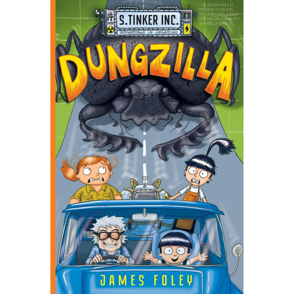 Dungzilla (cover, 2017) by James Foley