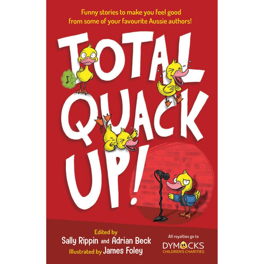 Total Quack Up! (cover, 2018) illustrated by James Foley