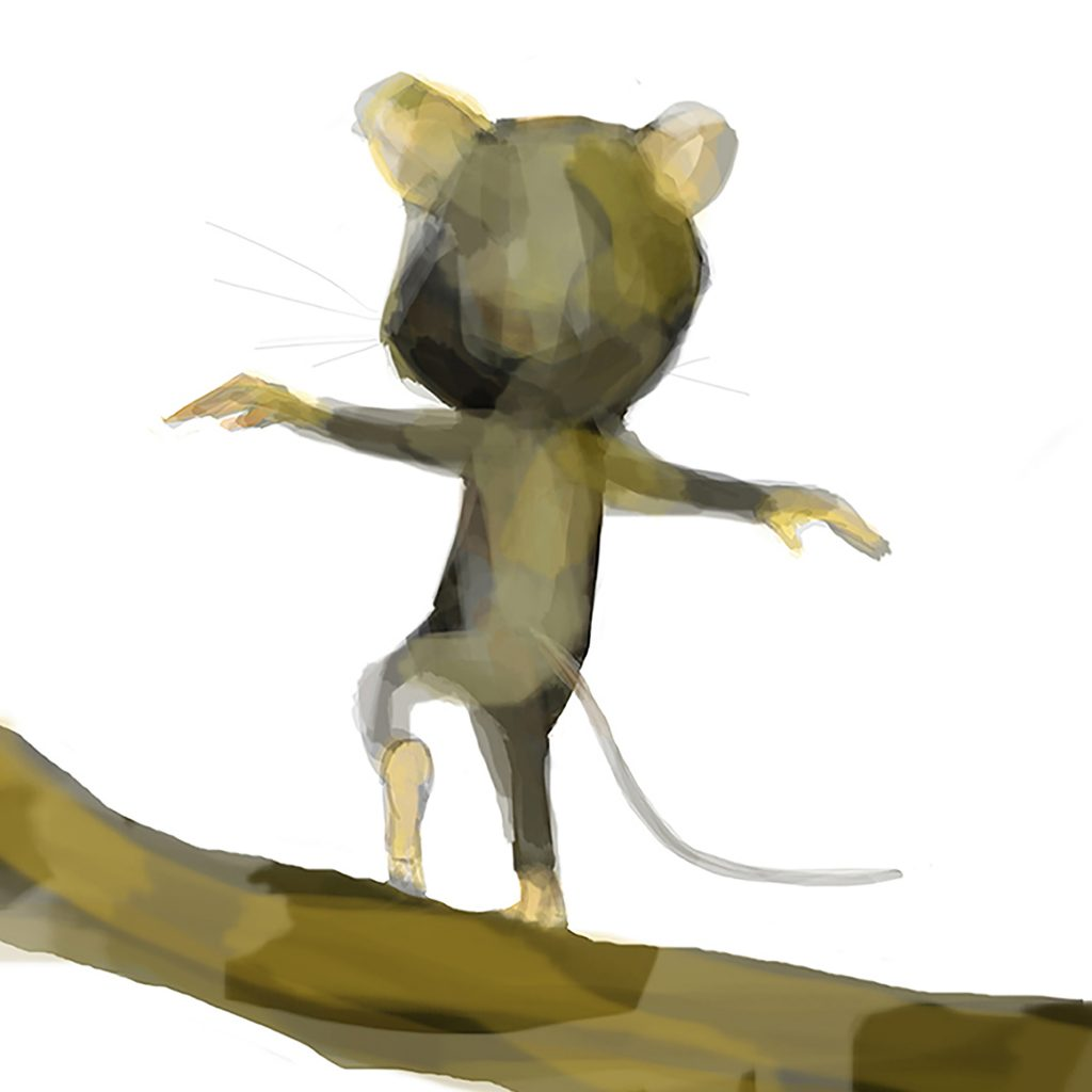 Hastings Mouse by Jane Stadermann