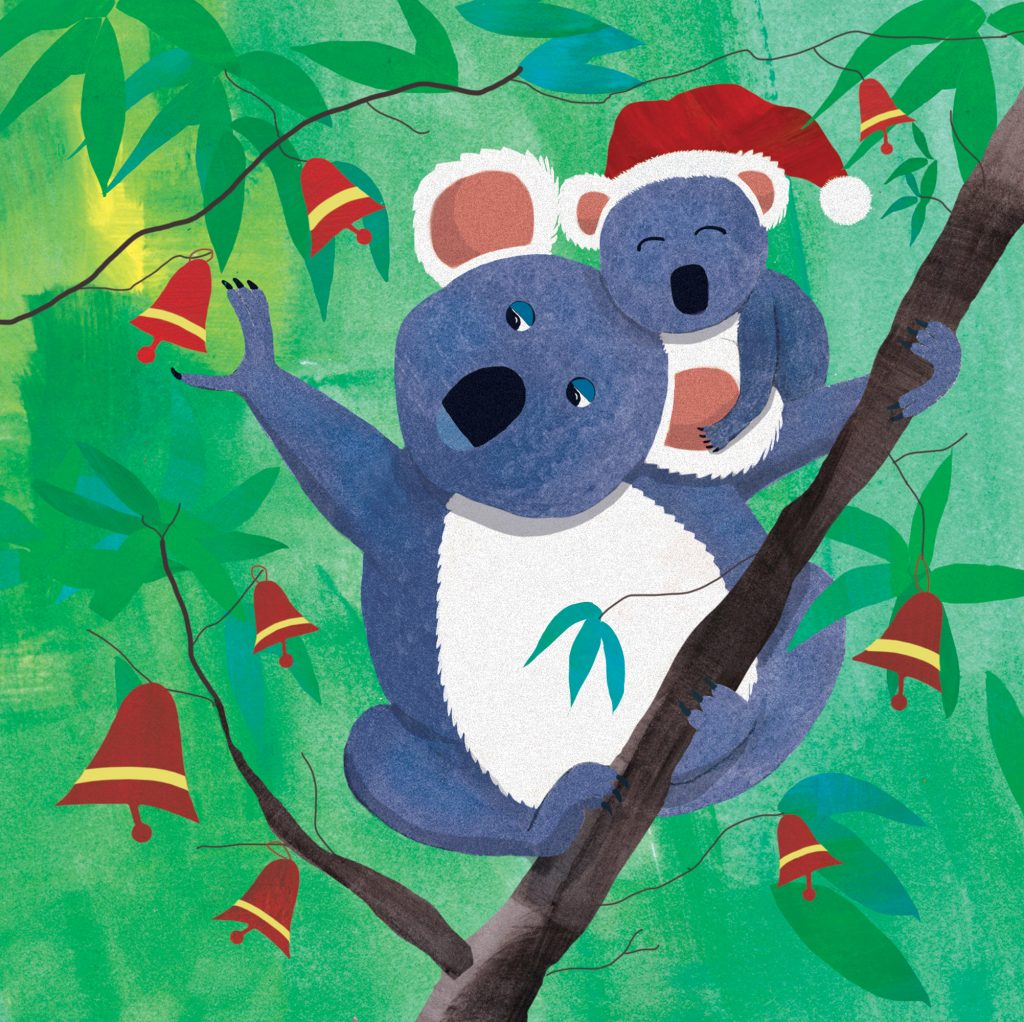 'Koala Christmas' by Jody Pratt