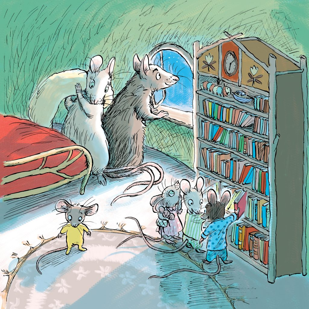 'Goodnight, Mice! (I don't have any buttons)' by Judy Watson