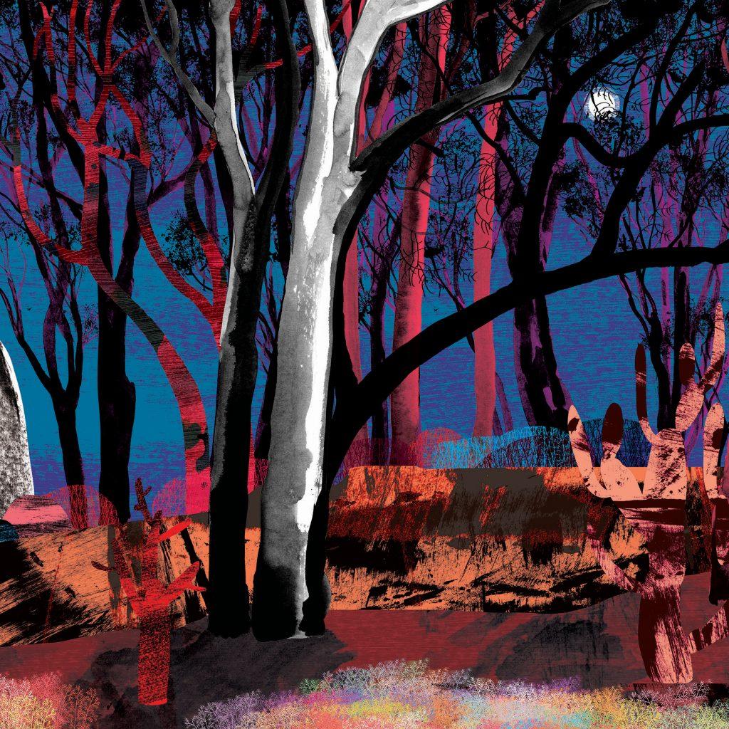 'Rampart' by Judy Watson
