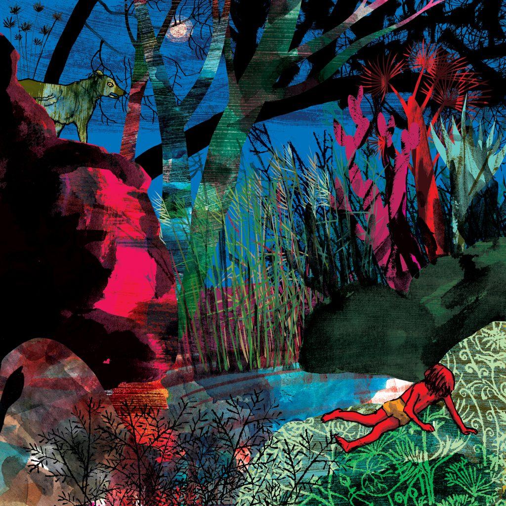 'Waterhole' by Judy Watson