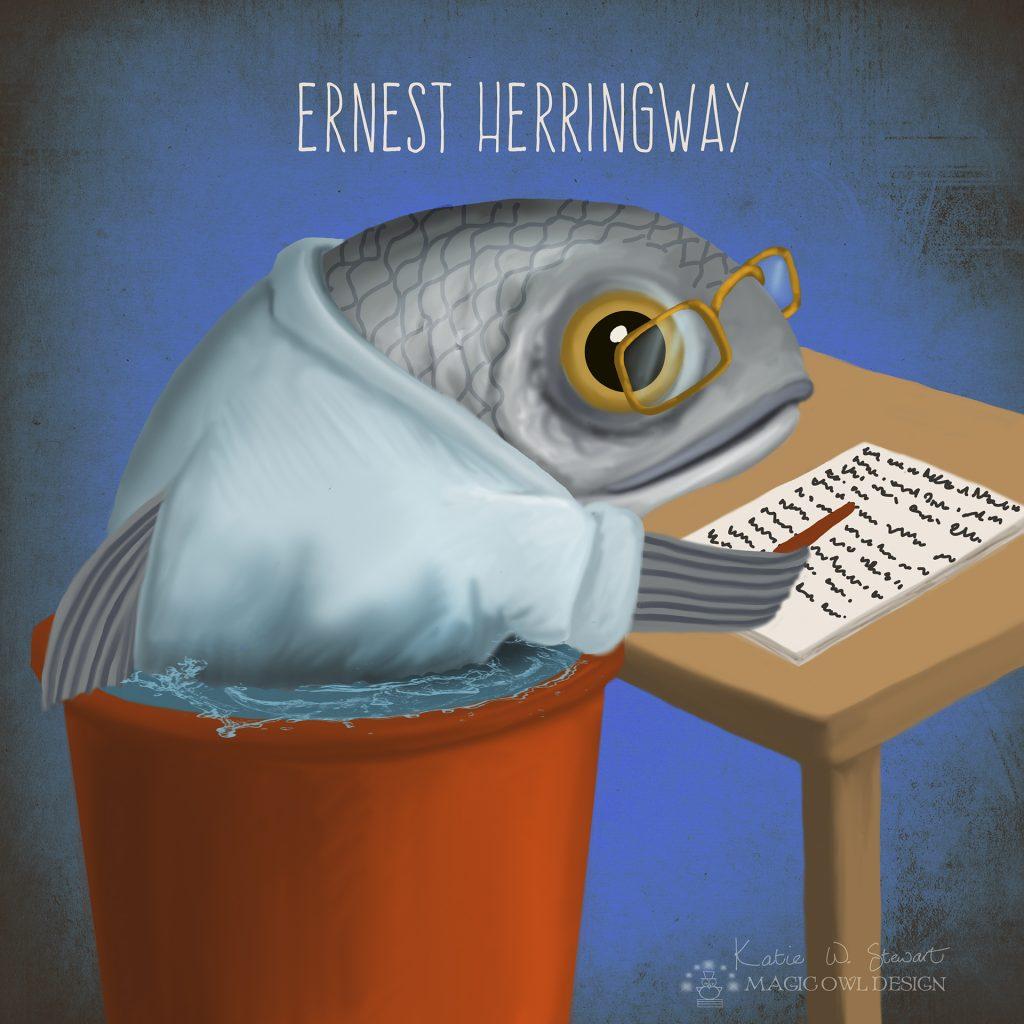 Ernest Herringway by Katie Stewart
