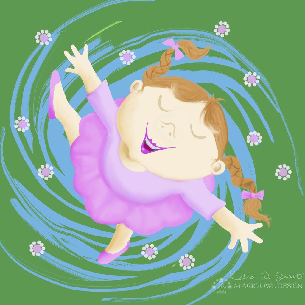 Spinning by Katie Stewart