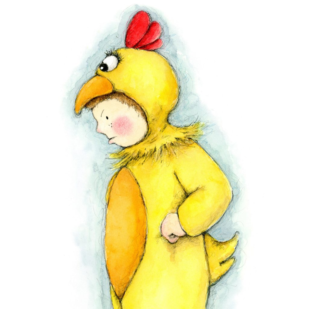 'Chicken Onesie' by Katrina Fisher