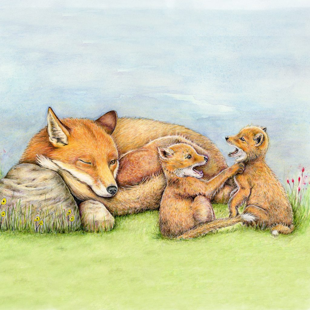 'Hush kids...Mumma is sleeping!' by Katrina Fisher