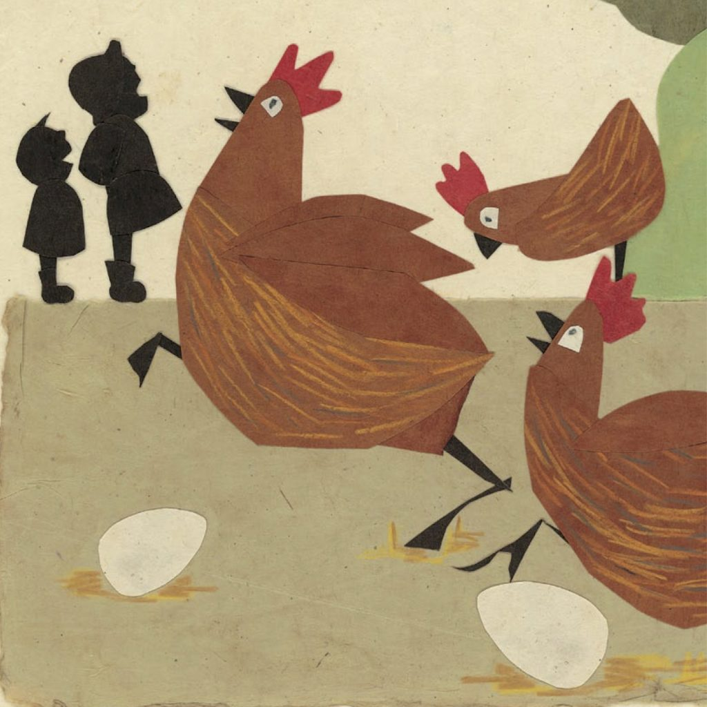 'Calling the Chooks' by Kylie Dunstan