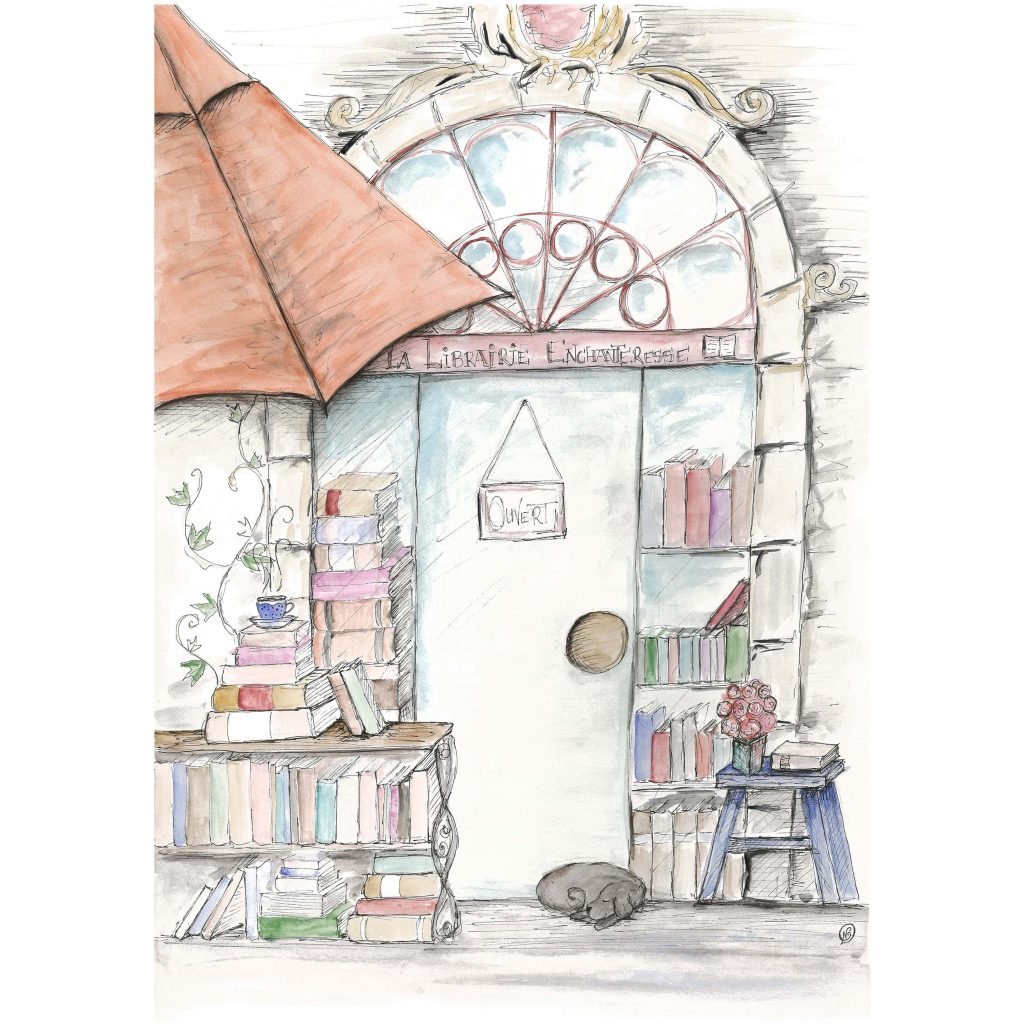 'The Enchanted Bookshop' by Noelene Kizis