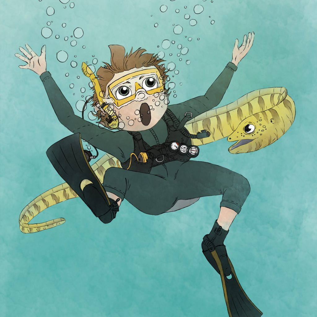 'Scuba Diving Adventure 1' by Laura Mullinder