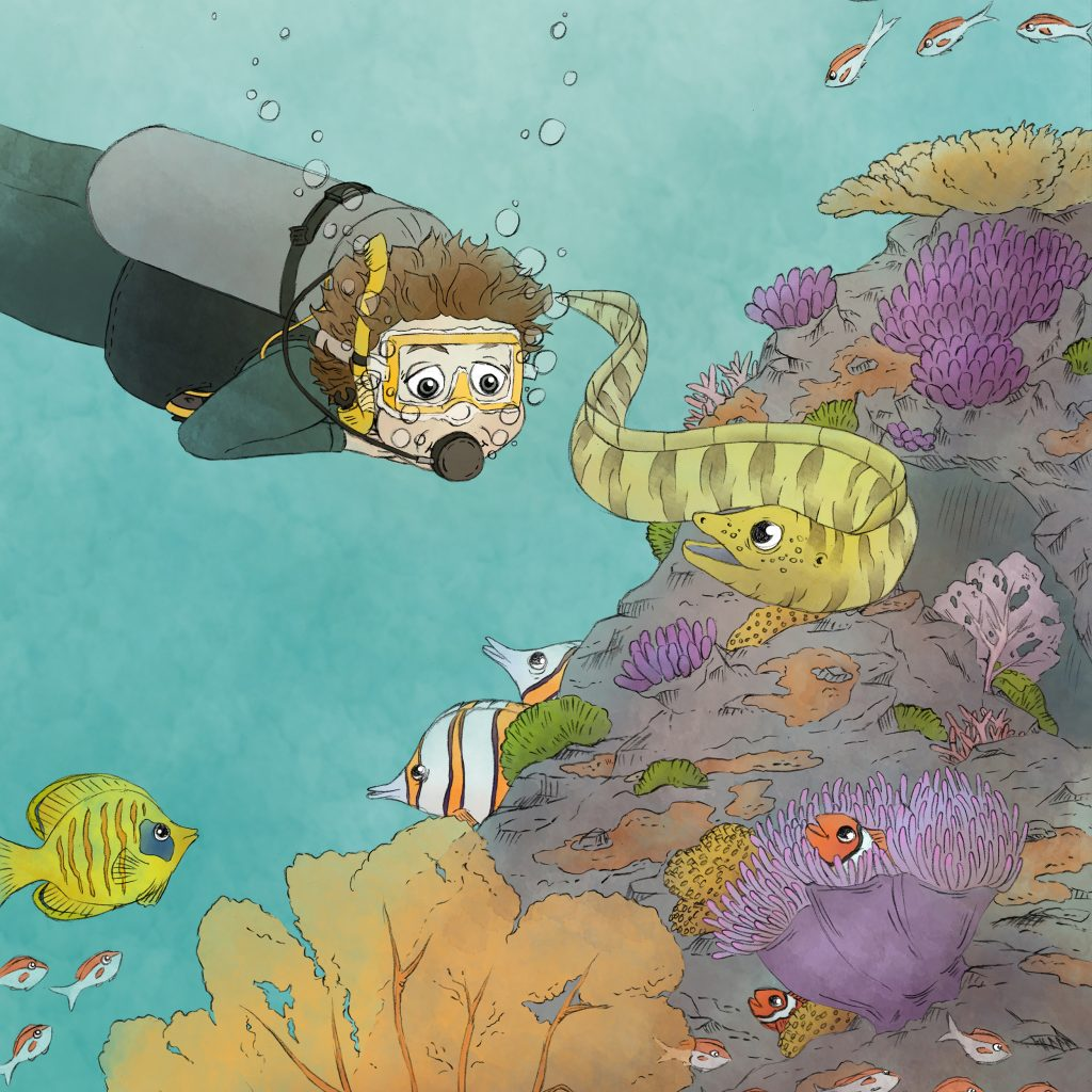'Scuba Diving on the Reef' by Lauren Mullinder