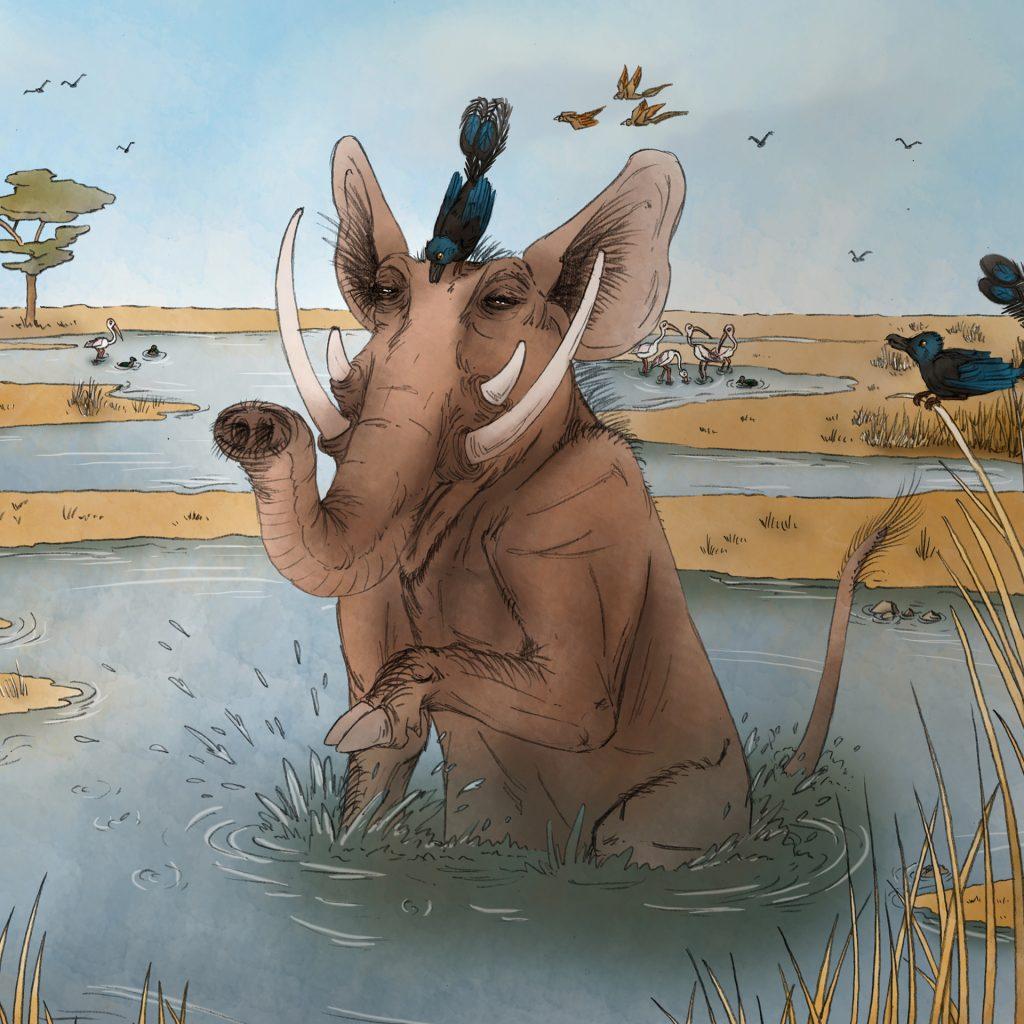 'Savannah Beast' by Lauren Mullinder