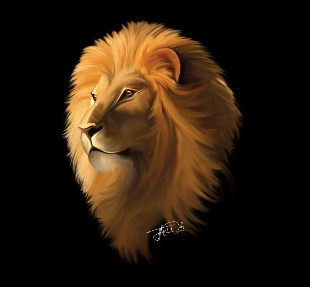 'King of the Sahara' by Tiffanee Daley