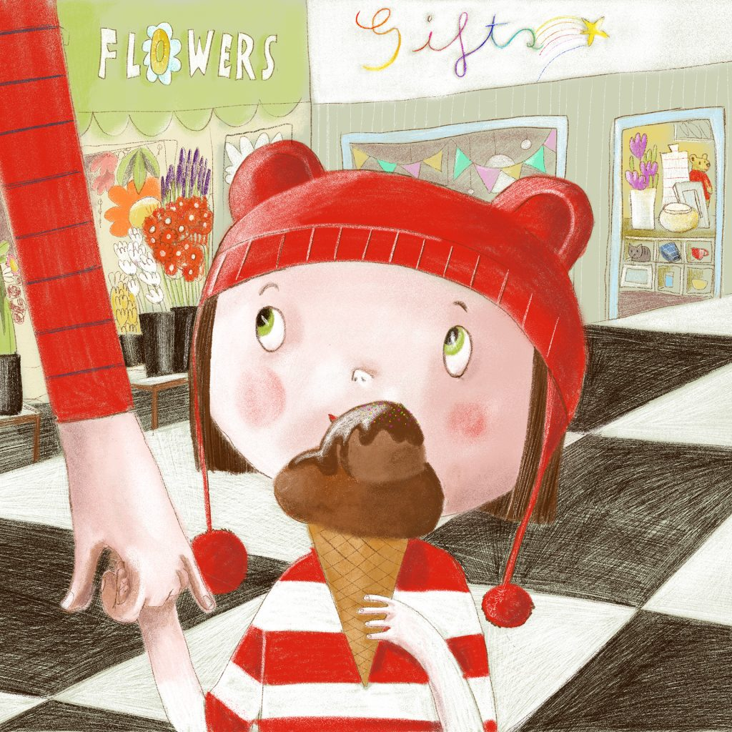'Ice Cream Stop' by Lisa Coutts