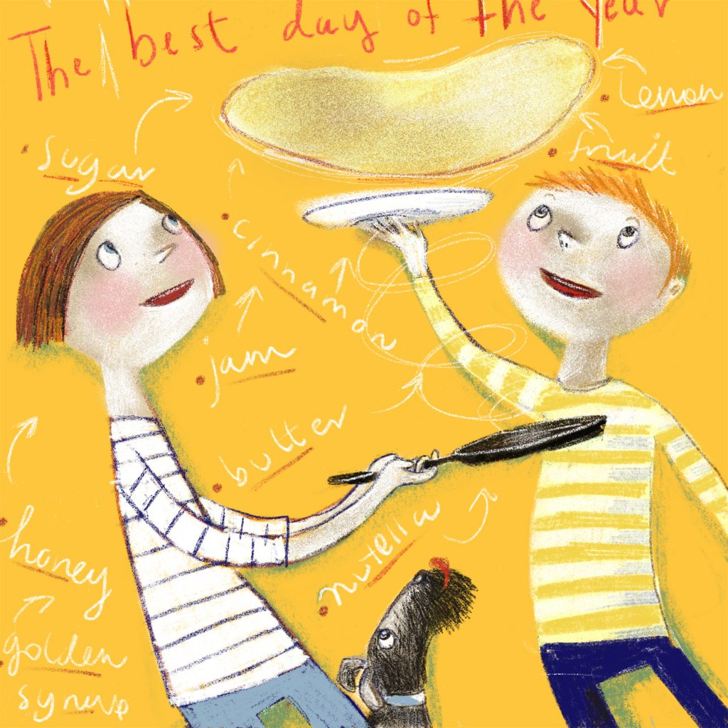 'The Best Day of The Year' by Lisa Coutts