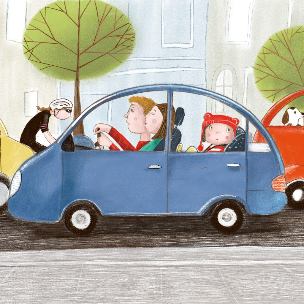 'Trip to the City' by Lisa Coutts