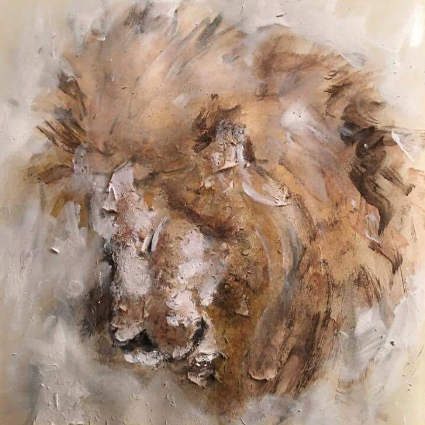 Lion by Lisa Stewart
