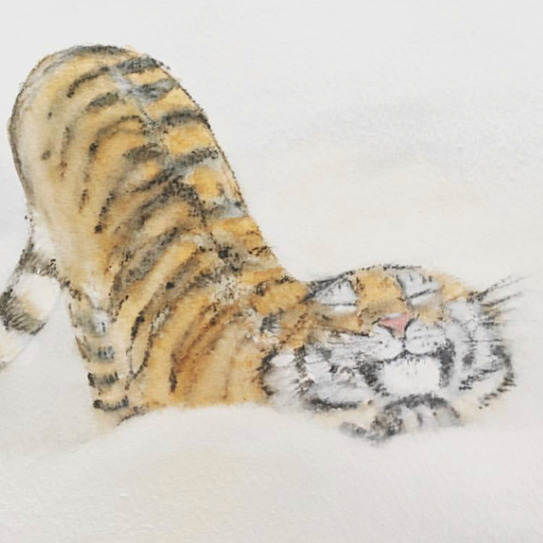 Tiger by Lisa Stewart