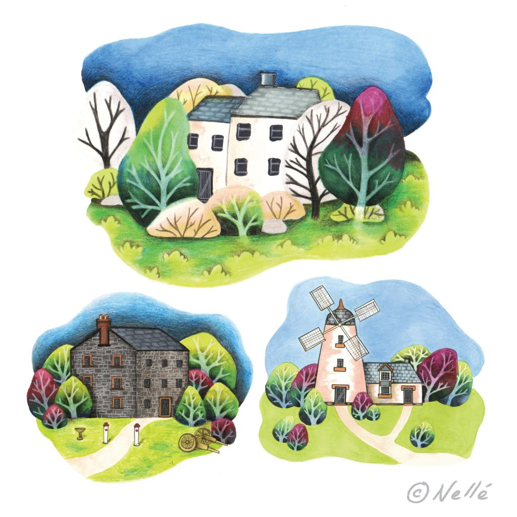 'Little Houses' by Nelle Pierce