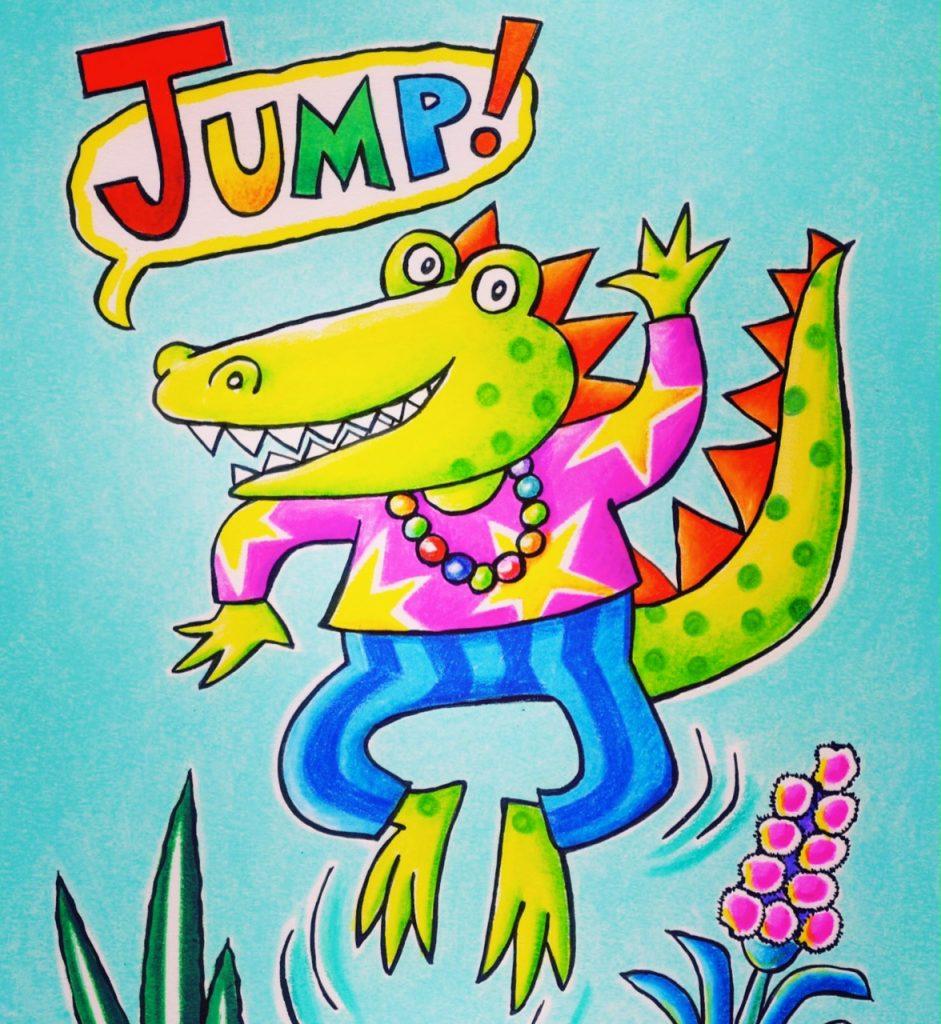 'Jump!' by Marjory Gardner