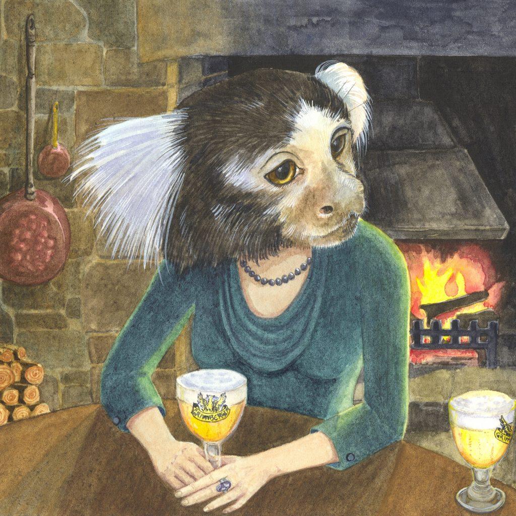 'Marmoset Lady' by Amber W Johnson