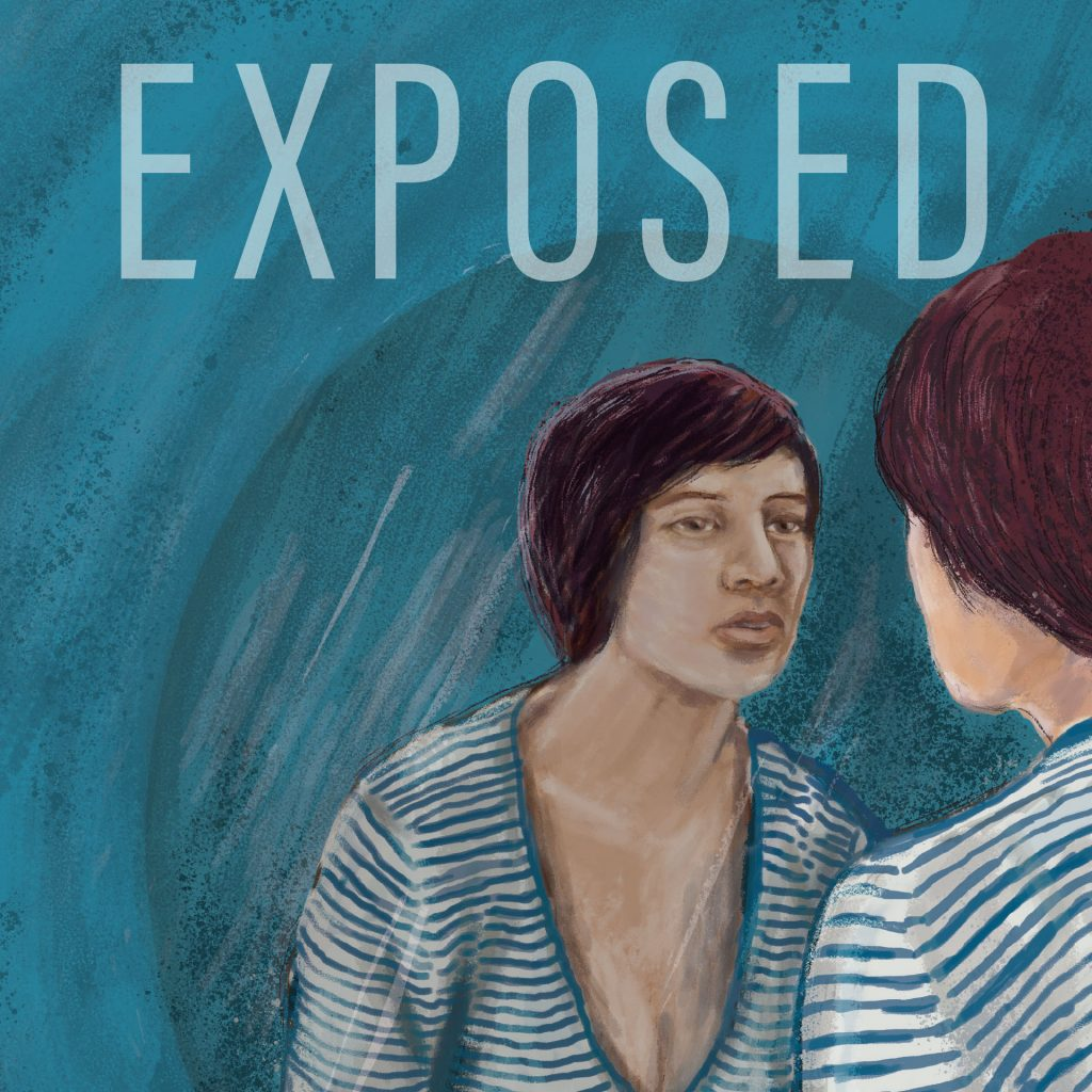 'Exposed' album cover by Matthew Broughton