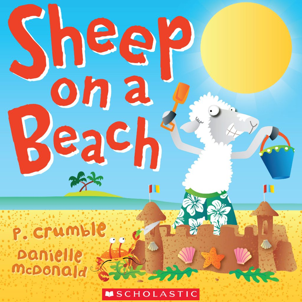 'Sheep on a Beach' by Danielle McDonald