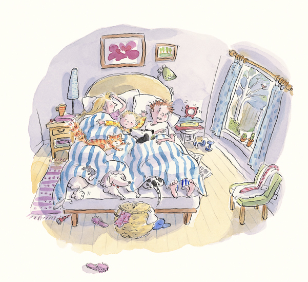 'Bed Tails - All in the Bed!' by Mitch Vane